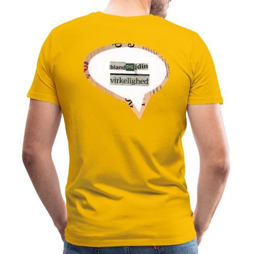 BlandDigIdinVirkelighed - Herre premium T-shirt