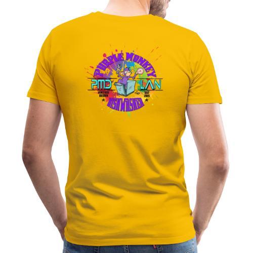 PMD Colour Burst - Men's Premium T-Shirt