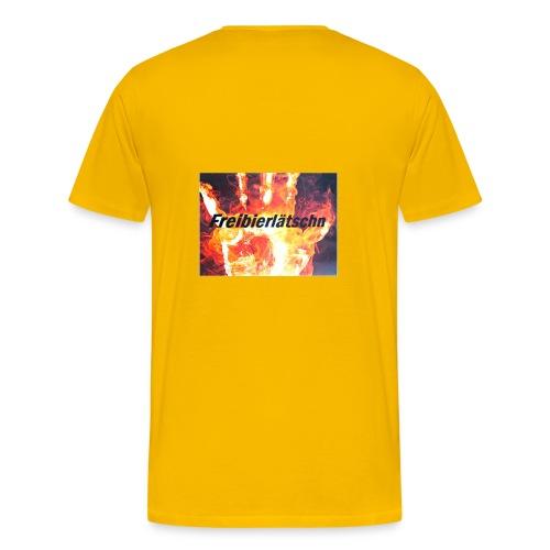 Freibierlätschn - Männer Premium T-Shirt