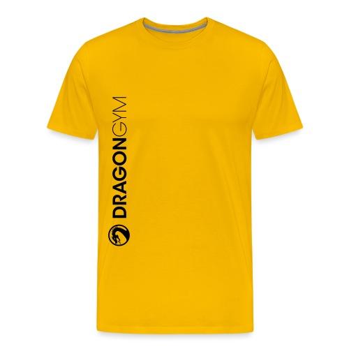 DG Textil Logo Schriftzug - Männer Premium T-Shirt