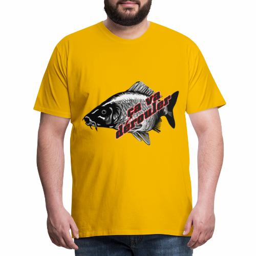 Ca va derouler, je pêche la carpe - T-shirt Premium Homme