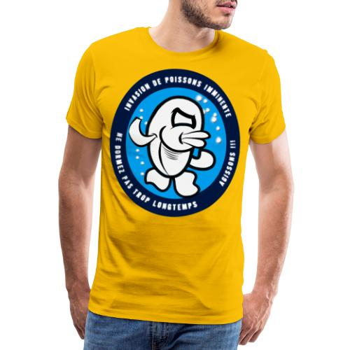 Tshirt chemise Halloween Poissons Agissons - T-shirt Premium Homme