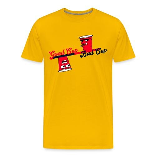 Good Cup Bad Cup - Männer Premium T-Shirt