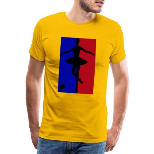 LionHeart Tänzerin, ballerina, artist - Männer Premium T-Shirt