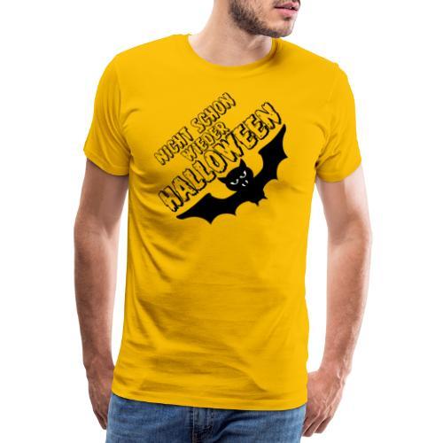 Eine genervte Fledermaus - Halloween Kostüm - Männer Premium T-Shirt