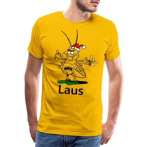 Nikolaus oder besser gesagt Niko der Laus - Männer Premium T-Shirt