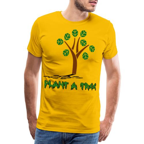Plant a Tree - Planze ein Baum für die Zukunft - Männer Premium T-Shirt