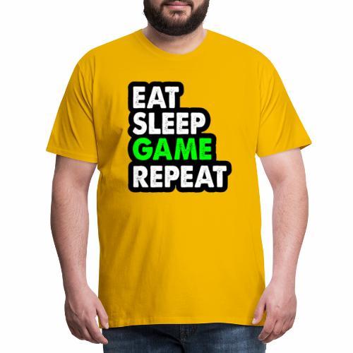 Real Gamer - Premium-T-shirt herr