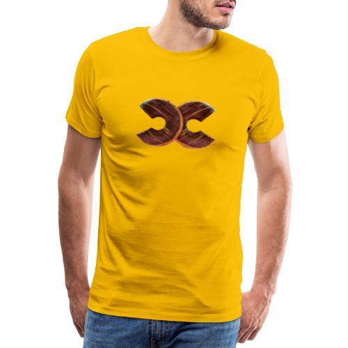 Simple donuts - Men's Premium T-Shirt