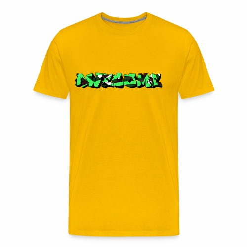 awesome camo - Mannen Premium T-shirt