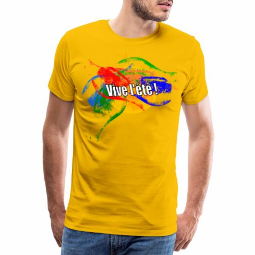 Live the summer ! - Men's Premium T-Shirt