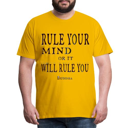 Rule Your Mind - Premium-T-shirt herr