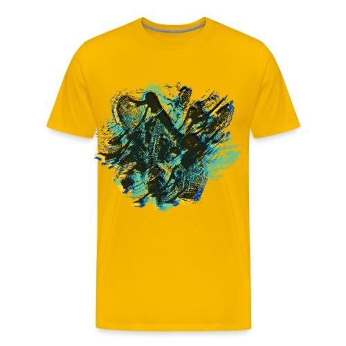 odciski palców - Koszulka męska Premium