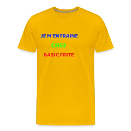 Basic Frite - T-shirt Premium Homme