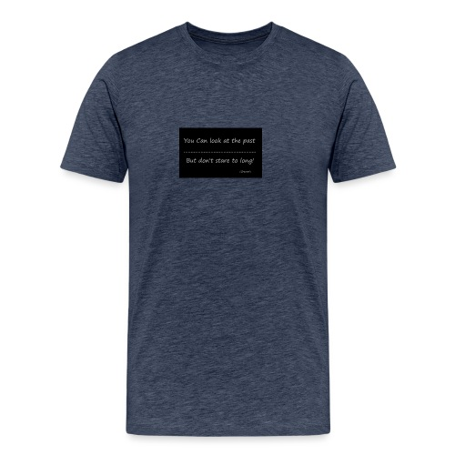 past - Mannen Premium T-shirt