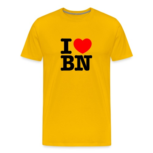 I love Bonn | I love BN - Männer Premium T-Shirt