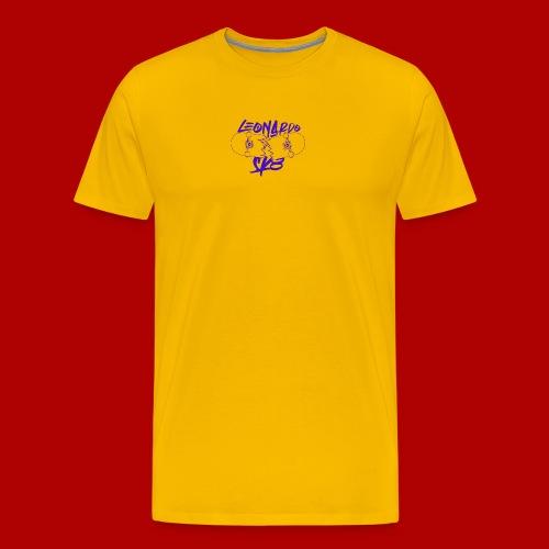 Purple Logo Break the rules Tee - Maglietta Premium da uomo