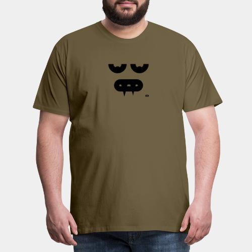 A-089 Smiley Vampir - Männer Premium T-Shirt