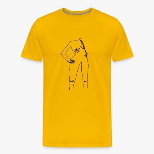 BLACK XX Rudme - Herre premium T-shirt