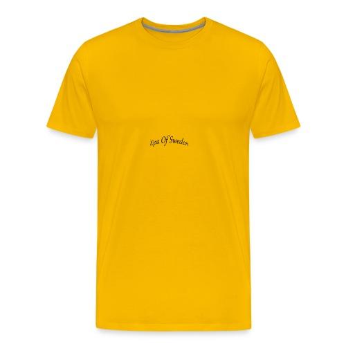 epaofsweden text - Premium-T-shirt herr