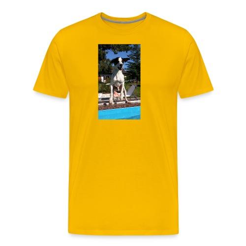 Süßer Hund - Männer Premium T-Shirt