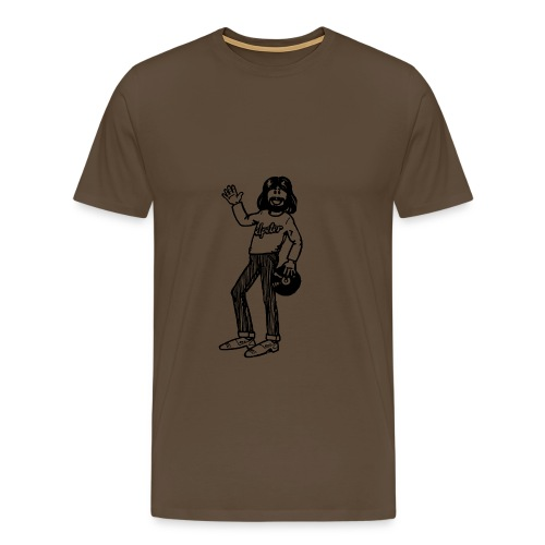 Elpeter Alleen Plaatje - Mannen Premium T-shirt