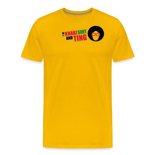 In Me Khaki Suit - Men's Premium T-Shirt