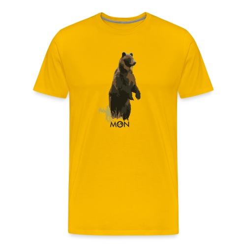 OSO PARDO - Camiseta premium hombre