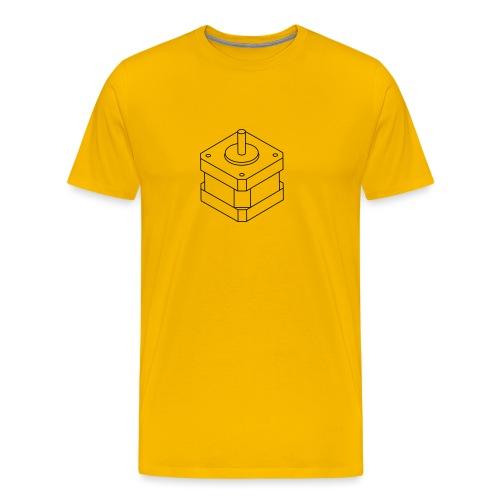 NEMA17 (no text). - Men's Premium T-Shirt