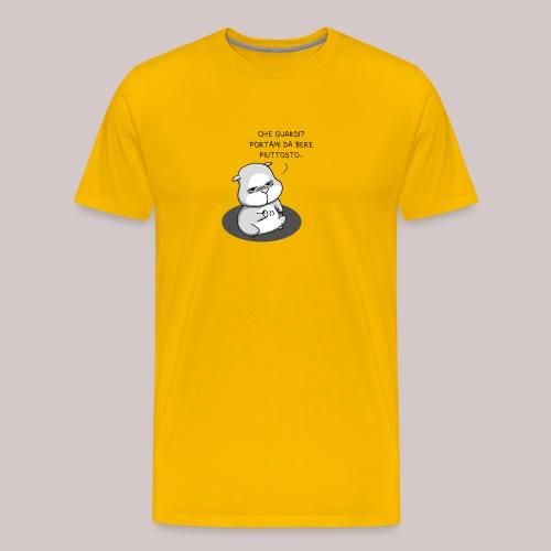 drunk_Hamster - Maglietta Premium da uomo