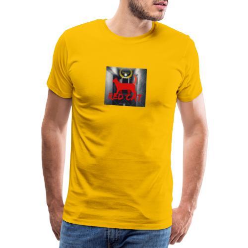 Red Cat (Deluxe) - Men's Premium T-Shirt