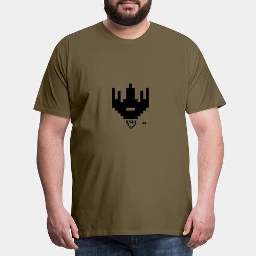 A-027 Raumschiff - Männer Premium T-Shirt