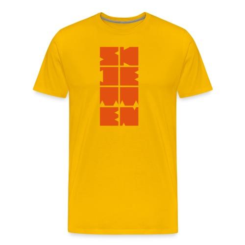 skjetten 20 - Premium T-skjorte for menn