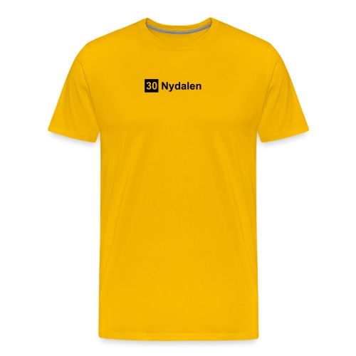 nydalen - Premium T-skjorte for menn