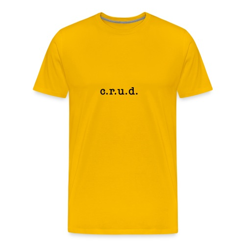 crud - Men's Premium T-Shirt