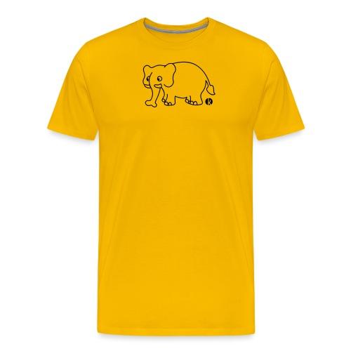 Elefant - Elephant - Männer Premium T-Shirt