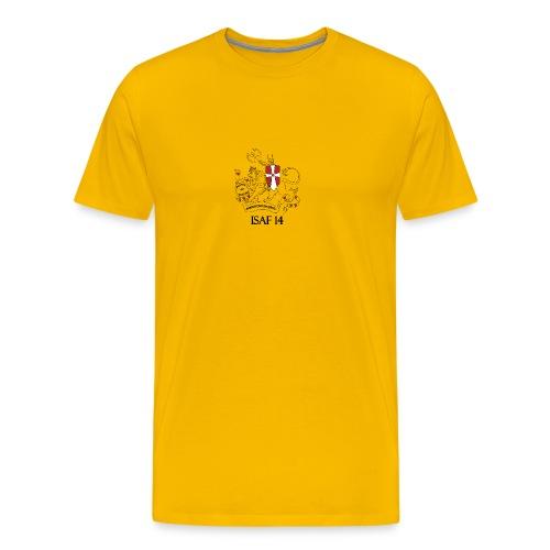 Alm Tshirt Oliven Grøn - Herre premium T-shirt