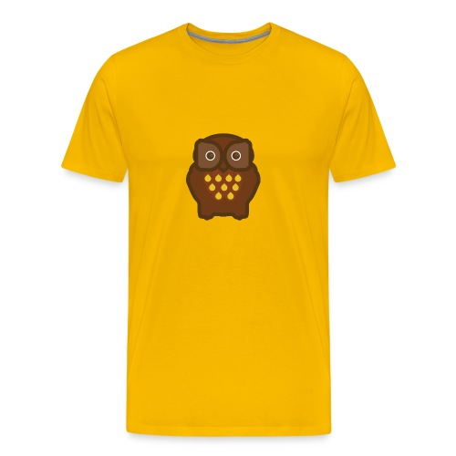 Yellow Fukuro Men's T-Shirts - Men's Premium T-Shirt