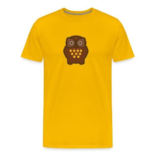 Yellow Fukuro Men's T-Shirts - Men's Premium T-Shirt