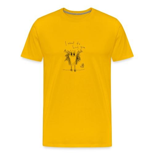 I Want To Hug You - Men's Premium T-Shirt