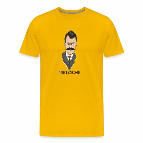Friedrich Nietzsche - Camiseta premium hombre