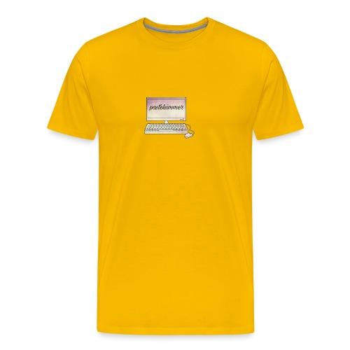 pastelsimmer Computer Merch - Koszulka męska Premium