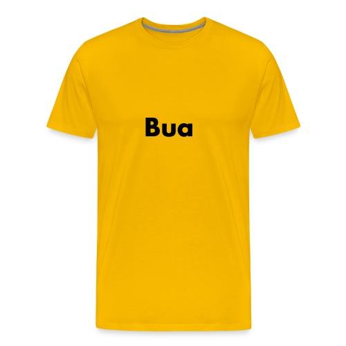 bua schwarz - Männer Premium T-Shirt