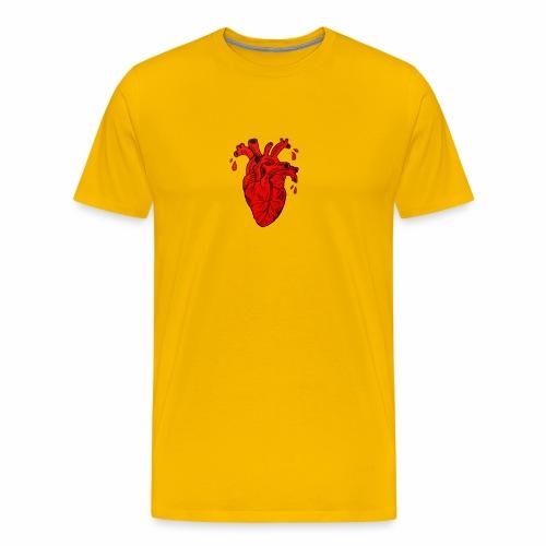 Heart - Maglietta Premium da uomo