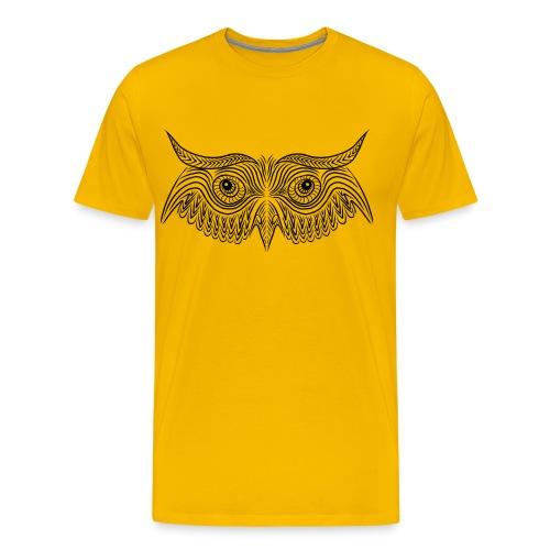 Owl mask - Maglietta Premium da uomo