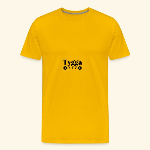 Tygga logo - Men's Premium T-Shirt