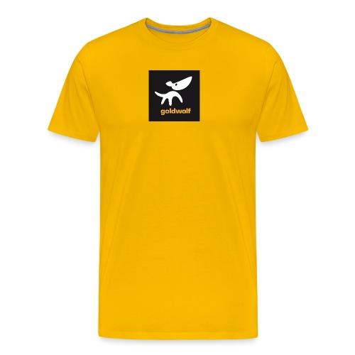 quadrat 2 grau - Männer Premium T-Shirt