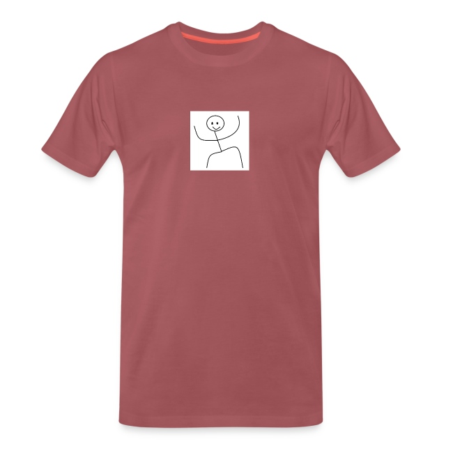 lady t-shirt stick man