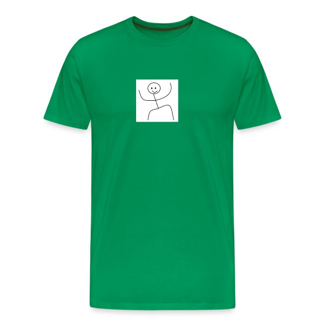 lady t-shirt stick man