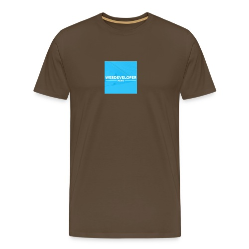 Web developer News - Männer Premium T-Shirt